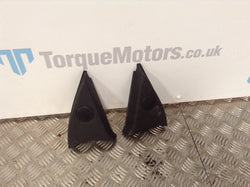 2003 Vauxhall Astra MK4 Gsi Pair Of Front Door Tweeter Covers