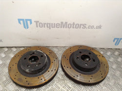 2008 Renault Clio 197 F1 Rear brake disc PAIR
