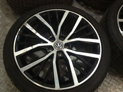 VW Polo GTI 17'' alloys Alloy wheels & tyres diamond cut