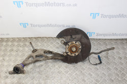 2002 BMW E46 M3 coupe drivers side right front hub wishbone arm