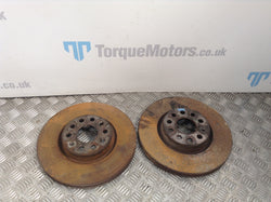 Volkswagen VW Golf GTD MK6 Front brake discs PAIR