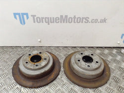 Subaru Impreza Turbo 2000 Rear brake discs PAIR