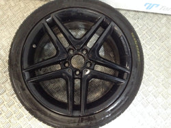 Mercedes A45 AMG Alloy & tyre DAMAGED