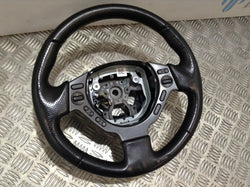Nissan Skyline GTR R35 Steering wheel with controls NO AIRBAG
