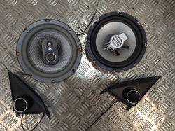 Mitsubishi evo 6 VI door speakers aftermarket tweeters