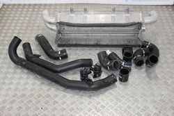Nissan R35 GTR forge motorsport intercooler kit with recirc valves