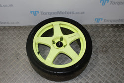 Ford Fiesta ST MK7 17'' Team dynamic pro race 3 alloy wheel with tyre