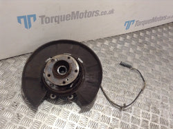 2008 E92 BMW M3 Passenger side rear wheel hub & knuckle