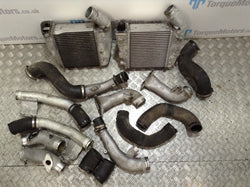 Nissan Gt-R R35 Intercoolers OEM with pipes VR38DETT