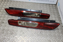 Ford Focus ST MK2 Rear tail lights PAIR Slightly tinted