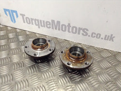 2015 Audi A1 S-Line Pair Of Rear Hubs