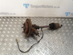 2003 MG TF 160 Passenger rear hub&knuckle / driveshaft