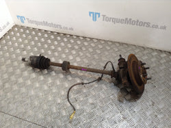 2003 MG TF 160 Drivers rear hub&knuckle / driveshaft