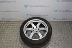 Nissan 350z 18'' Rear alloy with tyre