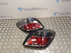 Mk5 Vauxhall Astra VXR Pair Of Rear Lights