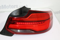 BMW M2 F87 2 Series Drivers right rear tail light LED 7420992