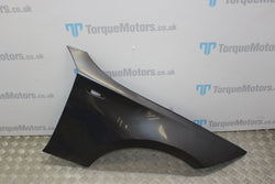 2005 BMW 120D 1 series drivers side front right wing grey e87