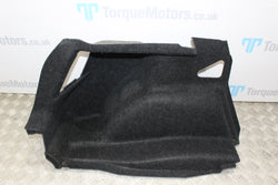 2005 BMW 120D 1 series passenger left side boot carpet trim e87
