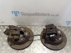 Ssangyong Rodius Rear brake discs & calipers pair