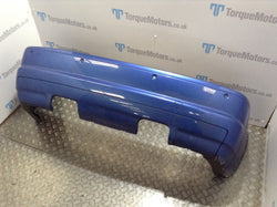 2003 BMW E46 M3 Estril Blue Rear Bumper With Parking Sensors
