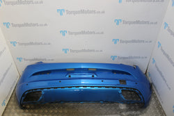 Astra J VXR GTC Arden blue rear bumper DAMAGED