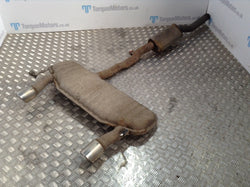 2002 Audi TT 1.8T Standard Cat Back Exhaust System