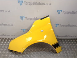 2017 Fiat 500 Abarth Passenger side wing (YELLOW)