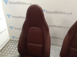 Mazda MX5 MK2 Brown leather front seats