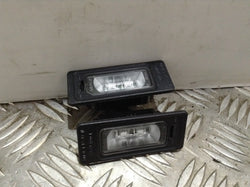 Audi A3 S Line Number plate light units