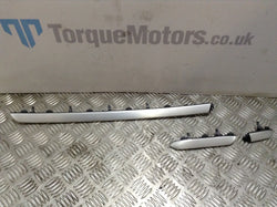 Audi A3 S Line 3 Piece dashboard aluminium trims strip genuine