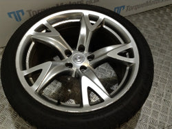 Nissan 370z GT 19'' Rear alloy wheel & tyre