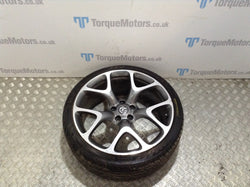 Astra J VXR GTC Genuine 20'' Diamond cut alloy wheel + Tyre x1