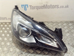 Astra J VXR GTC Drivers side front xenon Headlight Damaged
