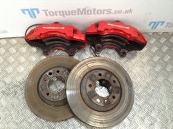 2005 Porsche Cayenne turbo 6 pot Front Brakes Discs And Calipers