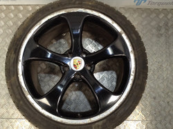 "2005 Porsche Cayenne Turbo 955 22"" Alloy Wheel And Tyre"