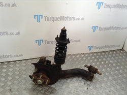 2001 Honda Integra DC5 type r Drivers side rear wheel hub & arm with rear shock absorber