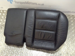 2005 Porsche Cayenne 955 Turbo Black Leather Lower Seat