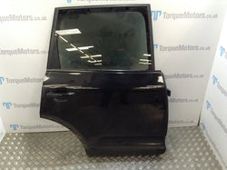 2005 Porsche Cayenne 955 Turbo Black Drivers Rear Door