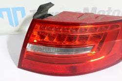 Audi RS4 B8 Drivers right rear outer LED tail light