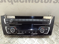 BMW 2 Series M240i hearer Climate control stereo radio unit panel