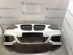 BMW 2 Series M240i Front bumper complete Slight damage
