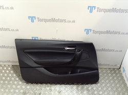 BMW 2 Series M240i Passenger front leather door card