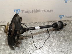 BMW 2 Series M240i Drivers rear driveshaft & wheel hub