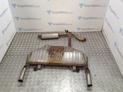 Renault Clio 197 F1 MK3 Exhaust system back box centre section