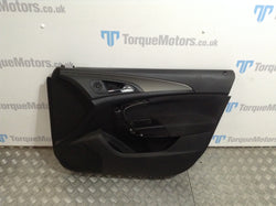 2009 Vauxhall Insignia Drivers side front door card