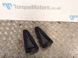 2009 Nissan GT-R Skyline R35 Pair Of Black Bonnet Vents