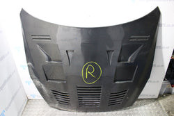 Nissan Skyline R35 GTR Carbon fibre bonnet hood with vents DAMAGED