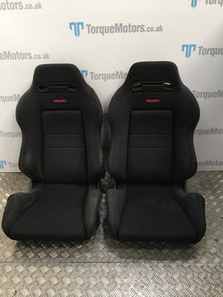 Honda integra dc2 Type R black recaro speed front seats