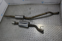 MK4 Astra coupe turbo powerflow exhaust system