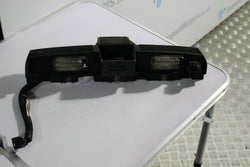 Nissan Skyline R35 GTR Number plate lights housing with reverse camera